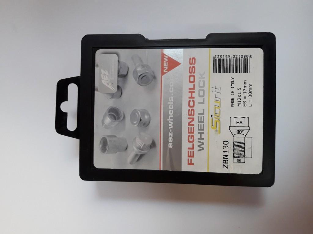 SICURIT ZBN130 12*1,50*30 bezpečnostní šrouby